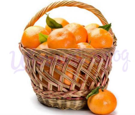 Корзина мандаринов (3 кг)