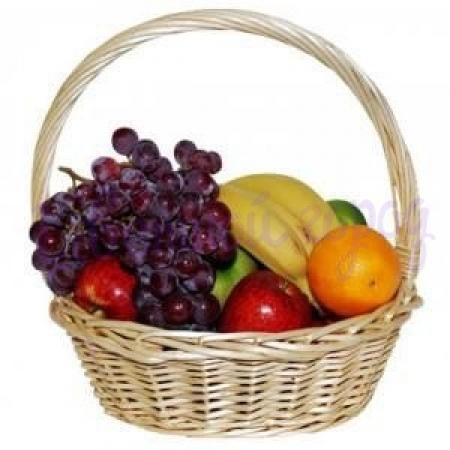 Корзина с фруктами (1,5 кг)