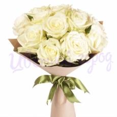 """Букет """"11 белых роз"""""""