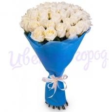 "Букет ""21 белая роза"""