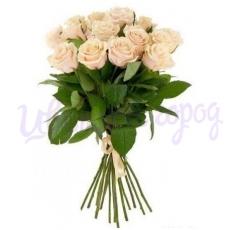 """Букет """"15 кремовых роз"""""""